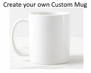 Design your own Custom Coffee Mug Wrap around Simply Create Effect